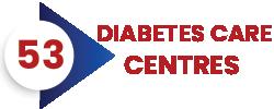 53 Diabetes care centers India
